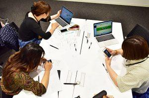 職種別研修では、各職種にあった専門スキルを磨くコンテンツを実施しています。