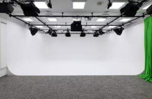 本格的な撮影スタジオがあります。動画やモーションキャプチャーなどの撮影も行っています。